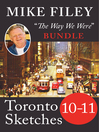 Mike Filey's Toronto Sketches, Books 10-11 (eBook)