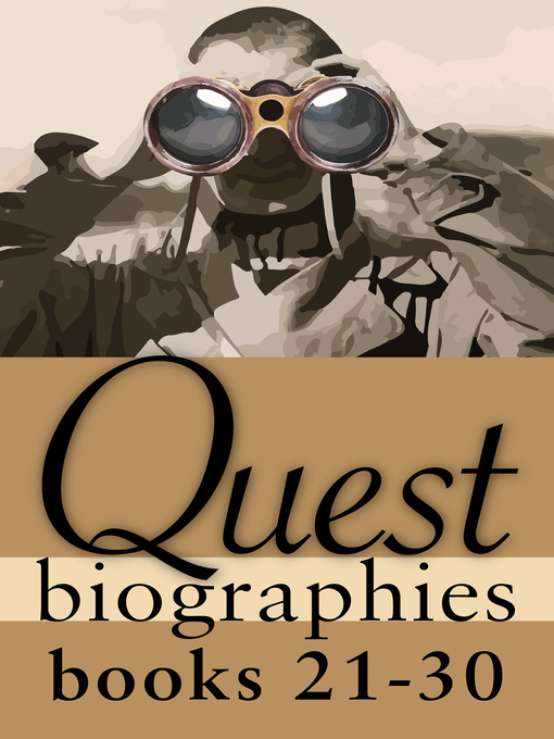 Quest Biographies Bundle — Books 21–30 (eBook): Louis Riel / James Wilson Morrice / Vilhjalmur Stefansson / Robertson Davies / James Douglas / William C. Van Horne / George Simpson / Tom Thomson / S