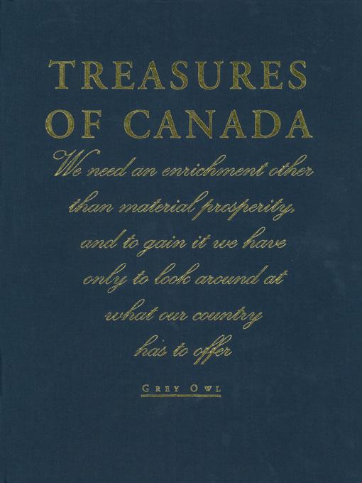 Treasures of Canada (eBook)