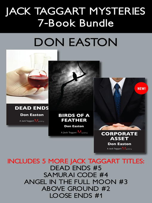 Jack Taggart Mysteries 7-Book Bundle (eBook): Corporate Asset / Birds of a Feather / Dead Ends / and more