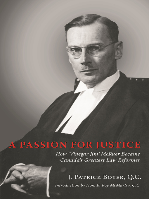 A Passion for Justice eBook