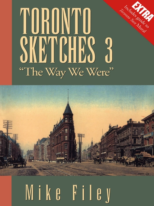"Toronto Sketches 3 (eBook): ""The Way We Were"""