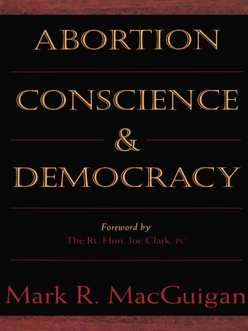 Abortion, Conscience and Democracy (eBook)