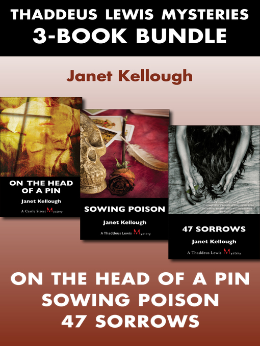 Thaddeus Lewis Mysteries 3-Book Bundle (eBook): 47 Sorrows / On the Head of a Pin / Sowing Poison