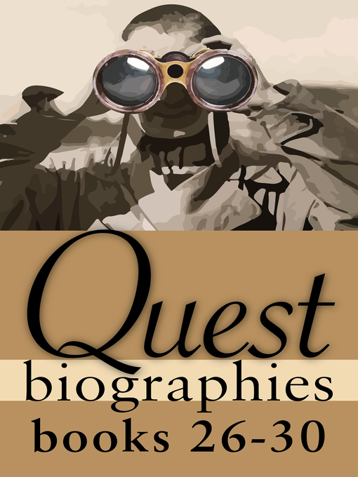 Quest Biographies Bundle — Books 26–30 (eBook): William C. Van Horne / George Simpson / Tom Thomson / Simon Girty / Mary Pickford