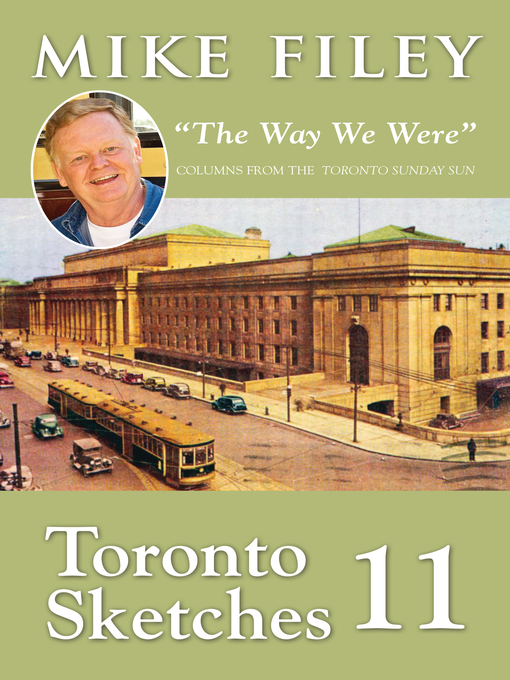 "Toronto Sketches 11 (eBook): ""The Way We Were"""
