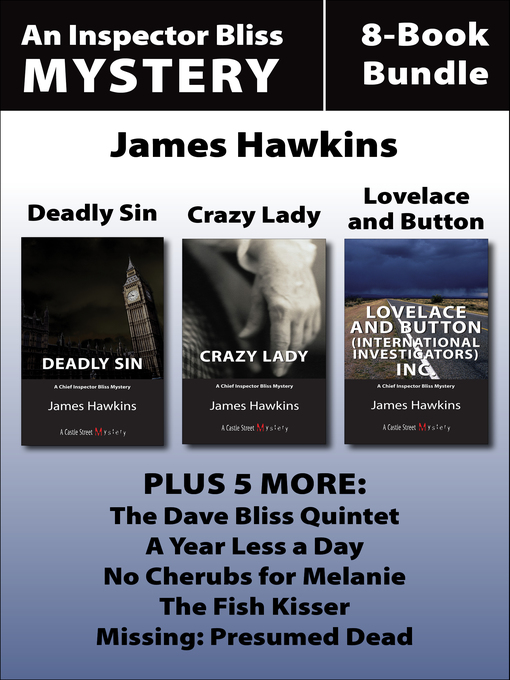 Inspector Bliss Mysteries 8-Book Bundle (eBook)