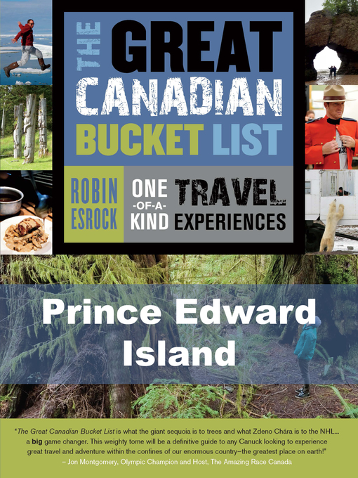 The Great Canadian Bucket List — Prince Edward Island (eBook)