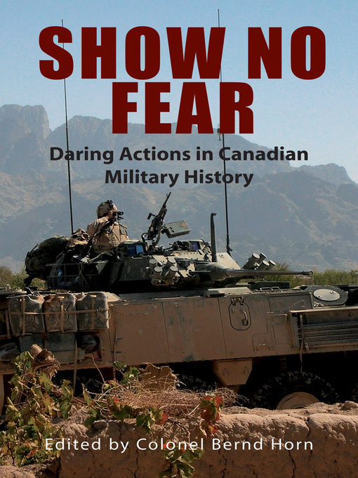 Show No Fear (eBook): Daring Actions in Canadian Military History