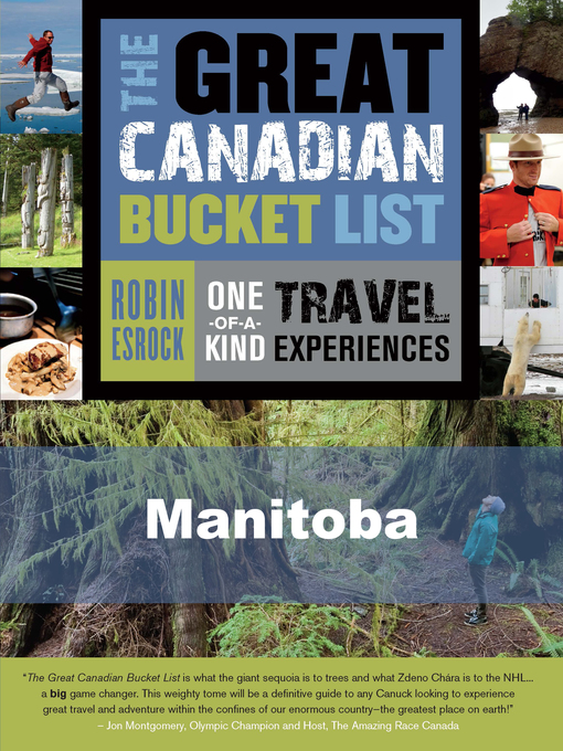 The Great Canadian Bucket List — Manitoba (eBook)