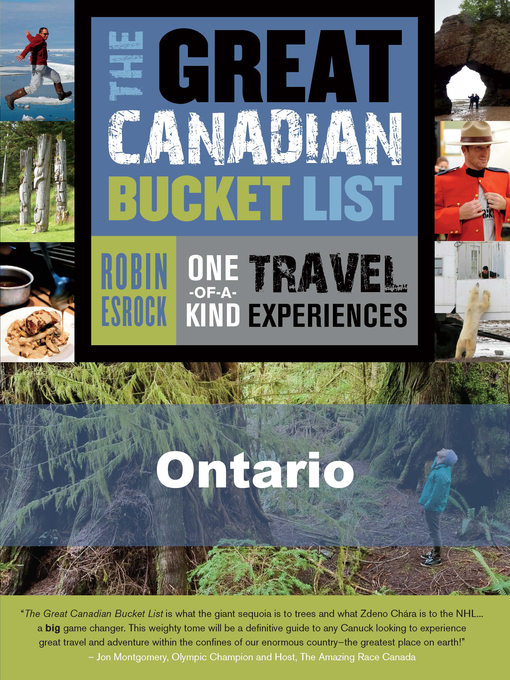 The Great Canadian Bucket List — Ontario (eBook)