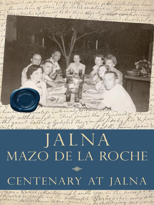 Centenary at Jalna (eBook)
