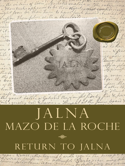 Return to Jalna (eBook)