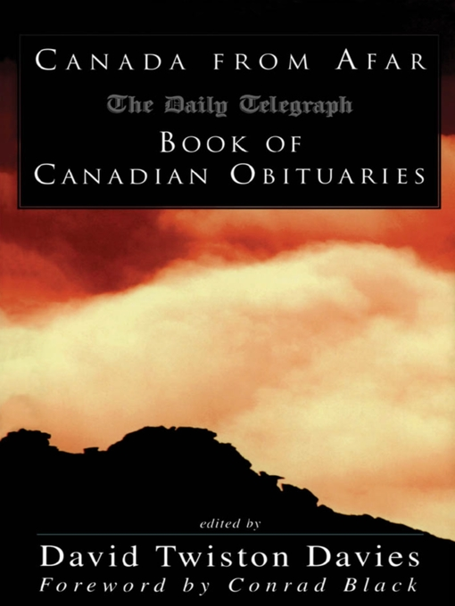 Canada from Afar (eBook): The Daily Telegraph Book of Canadian Obituaries