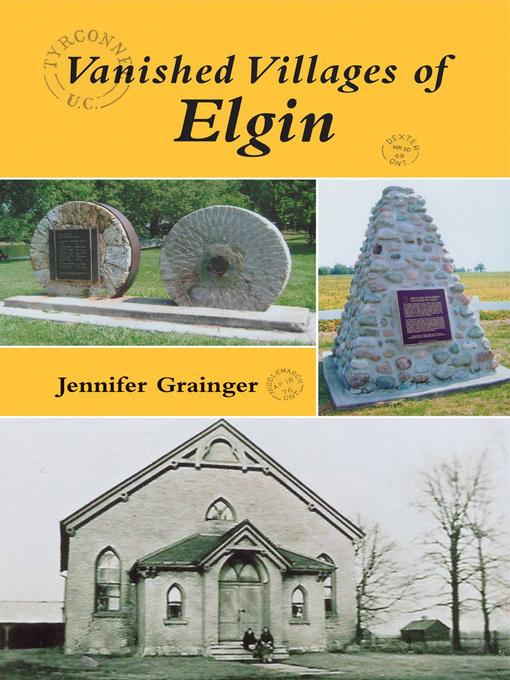 Vanished Villages of Elgin (eBook)