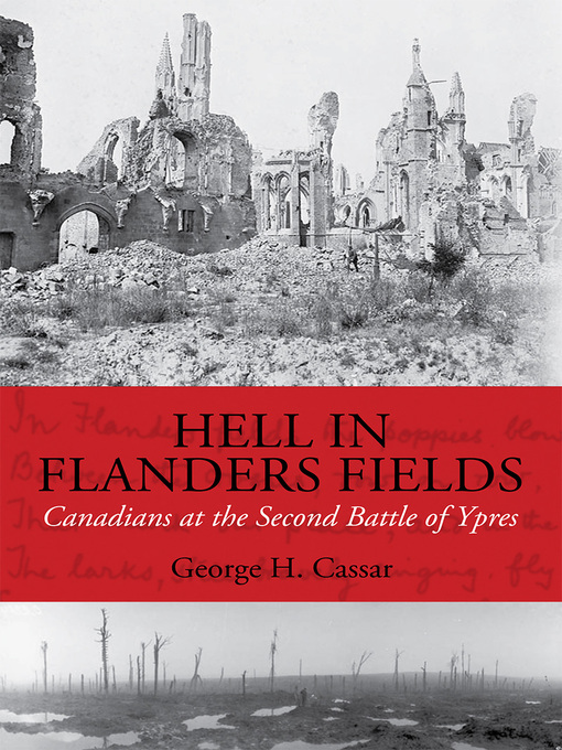 Hell in Flanders Fields (eBook): Canadians at the Second Battle of Ypres
