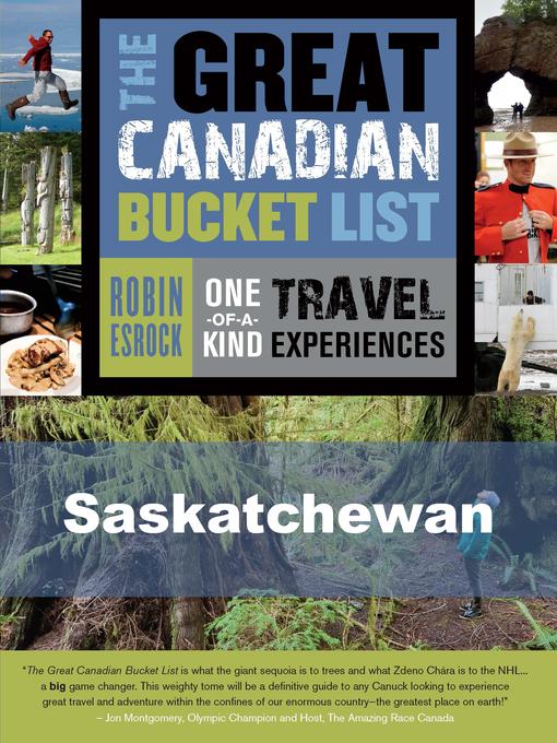 The Great Canadian Bucket List — Saskatchewan (eBook)