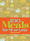 100 Meals for $5 or Less (eBook)