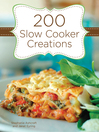 200 Slow Cooker Creations (eBook)