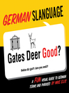 German Slanguage (eBook): A Fun Visual Guide to German Terms and Phrases