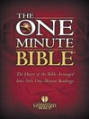 HCSB One Minute Bible (eBook): The Heart of the Bible Arranged into 366 One-Minute Readings