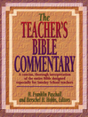 Teacher's Bible Commentary (eBook)