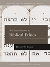 Introduction to Biblical Ethics (eBook)