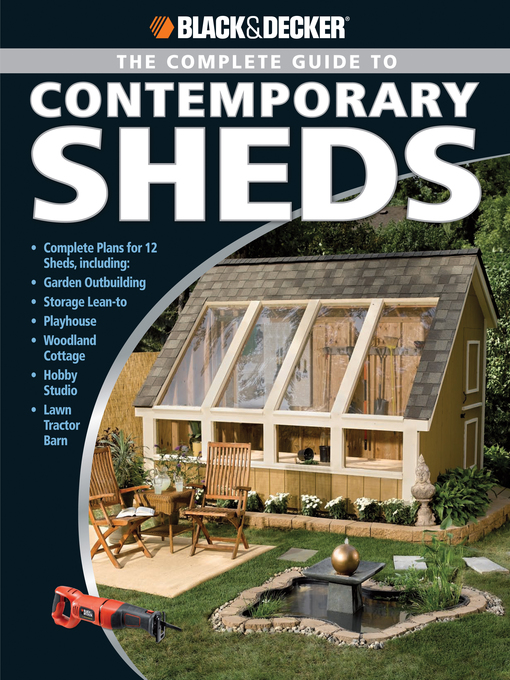The Complete Guide to Contemporary Sheds (eBook)