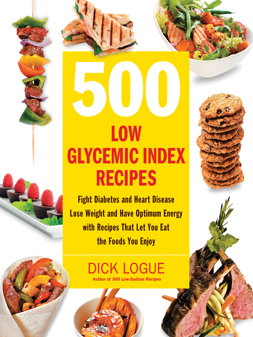 500 Low Glycemic Index Recipes (eBook)