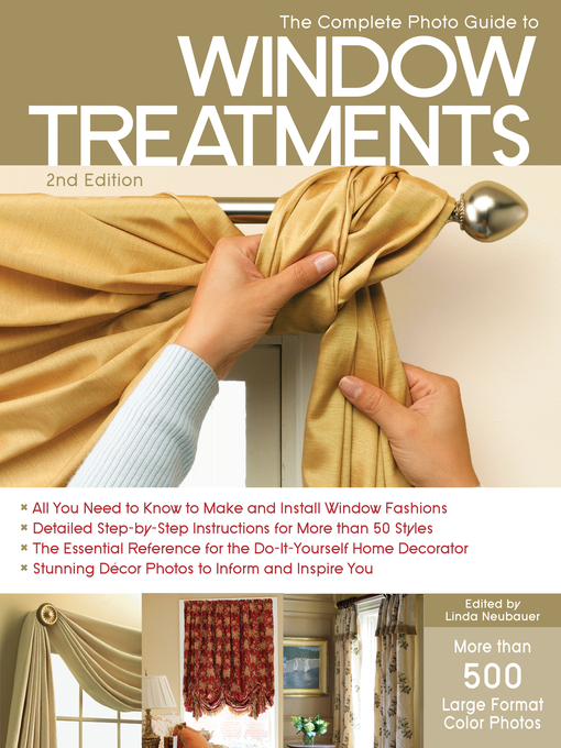 The Complete Photo Guide to Window Treatments (eBook)