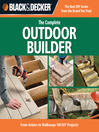 The Complete Outdoor Builder (eBook): From Arbors to Walkways