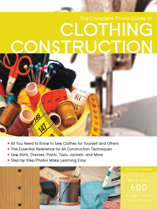 The Complete Photo Guide to Clothing Construction (eBook)