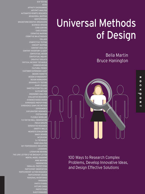 Universal Methods of Design (eBook): 100 Ways to Research Complex Problems, Develop Innovative Ideas, and Design Effective Solutions