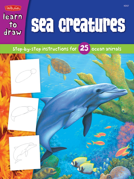Sea Creatures (eBook): Step-by-Step Instructions for 25 Ocean Animals