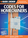 Black & Decker Codes for Homeowners (eBook): Electrical Mechanical Plumbing Building Updated through 2014