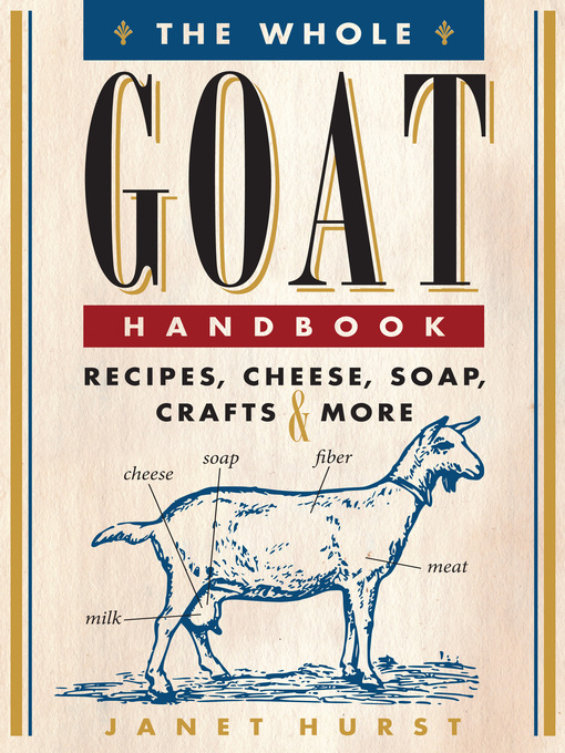 The Whole Goat Handbook (eBook): Recipes, Cheese, Soap, Crafts & More