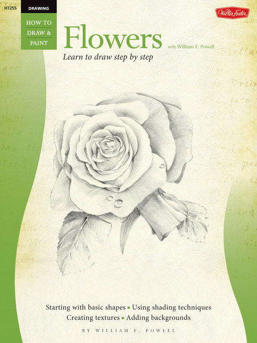 Drawing (eBook): Flowers with William F. Powell