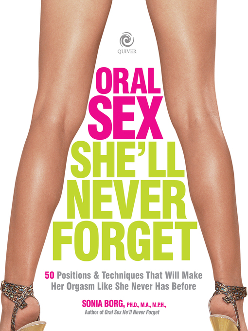 Oral Sex She'll Never Forget (eBook)