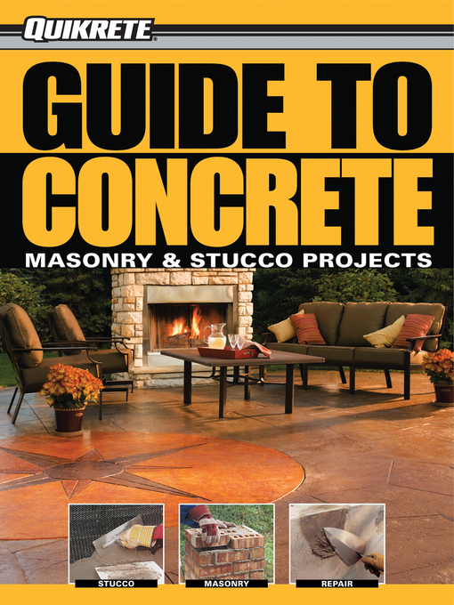 Guide to Concrete (eBook): Masonry & Stucco Projects
