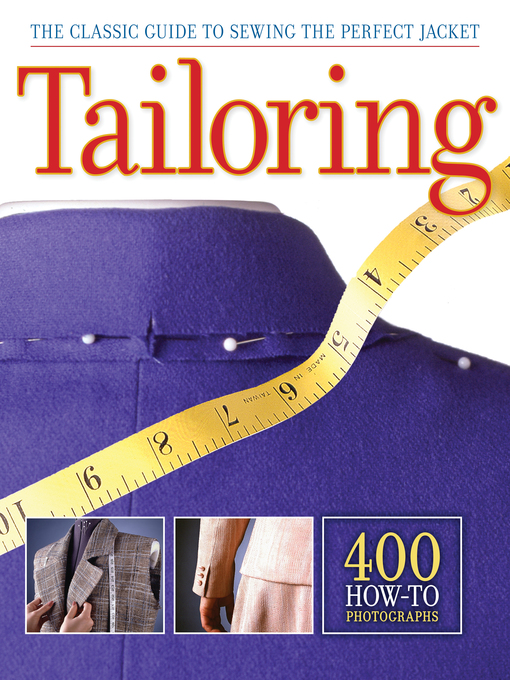 Tailoring (eBook): The Classic Guide to Sewing the Perfect Jacket