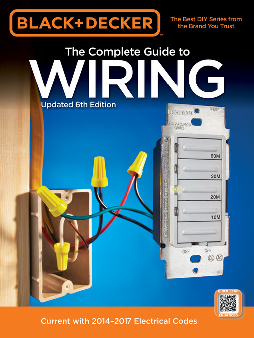 Black & Decker Wiring Repairs (eBook): Current with 2011-2013 Electrical Codes
