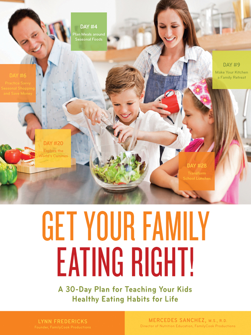 Get Your Family Eating Right! (eBook): A 30-day Plan for Teaching Your Kids Healthy Eating Habits for Life