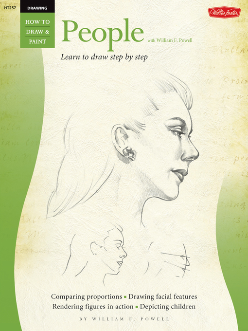 People with William F. Powell (eBook): Learn to Draw Step by Step