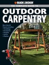The Complete Guide to Outdoor Carpentry (eBook)