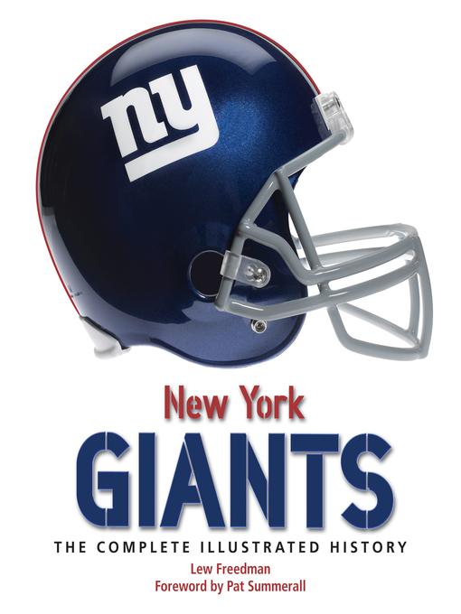New York Giants (eBook): The Complete Illustrated History