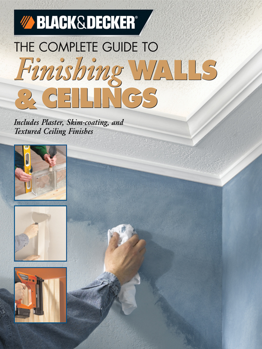The Complete Guide to Finishing Walls & Ceilings (eBook)