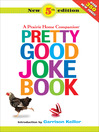 Pretty Good Joke Book eBook