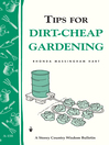 Tips for Dirt-Cheap Gardening (eBook): Storey's Country Wisdom Bulletin A-158