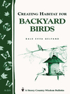 Creating Habitat For Backyard Birds (eBook)