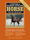 Starting & Running Your Own Horse Business (eBook)